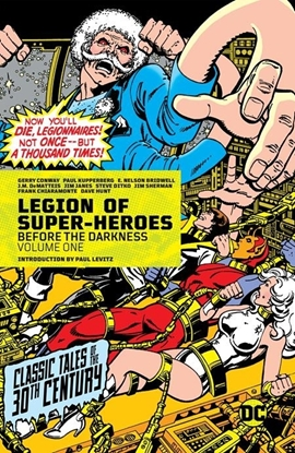 Picture of LEGION OF SUPER-HEROES BEFORE THE DARKNESS VOL 1 HC