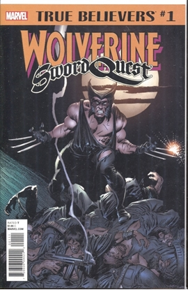 Picture of TRUE BELIEVERS WOLVERINE SWORD QUEST #1
