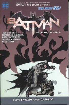Picture of BATMAN NIGHT OF THE OWLS TP (N52)