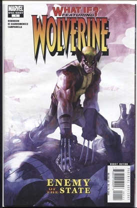 Picture of WHAT IF FEATURING WOLVERINE ENEMY OF THE STATE #1 8.0 VF