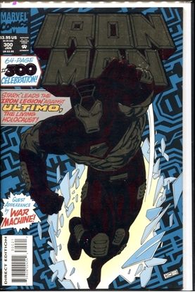 Picture of IRON MAN 1968 #300 9.0 VF/NM
