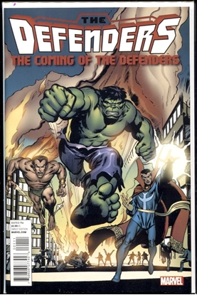 Picture of COMING OF THE DEFENDERS 2011 #1 9.4 NM