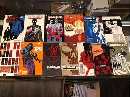 Picture of 100 BULLETS VOLUME 1 2 3 4 5 6 7 8 9 10 11 12 13 TP SET REPS 1-100