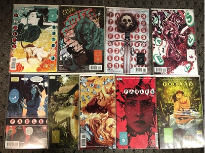 """Picture of FABLES #141-149 """"HAPPILY EVERY AFTER"""" STORY ARC SET NM"""