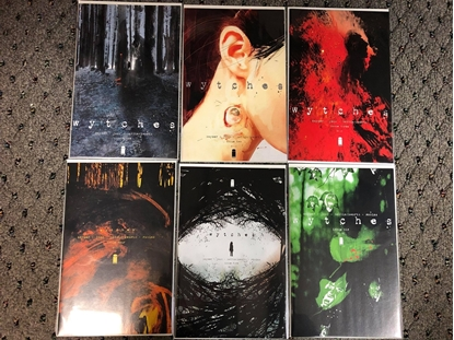 Picture of WYTCHES #1 2 3 4 5 6 / 1ST PRINT SET / SNYDER-JOCK NM