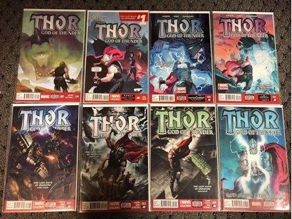 Picture of THOR GOD OF THUNDER (2012) #18 19 20 21 22 23 24 25 / 1ST PRINT SET NM