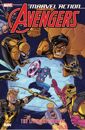 Picture of MARVEL ACTION AVENGERS TP BOOK 4 LIVING NIGHTMARE