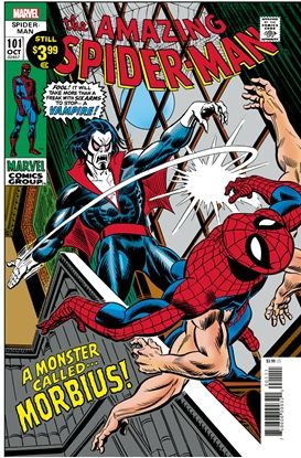 Picture of AMAZING SPIDER-MAN #101 FACSIMILE EDITION