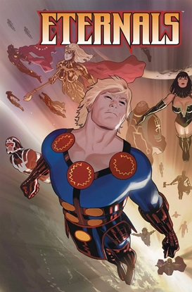 Picture of ETERNALS POSTER BOOK TP