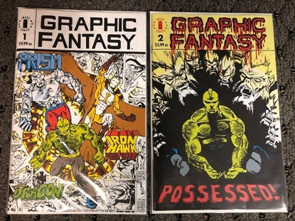 Picture of GRAPHIC FANTASY #1 & 2 FACSIMILE EDITION (MR)