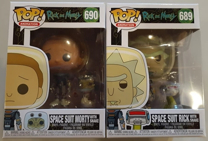 Picture of FUNKO POP RICK AND MORTY RICK & MORTY SPACESUIT W/SNAKE SET