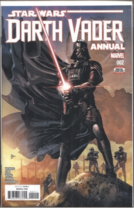 Picture of STAR WARS DARTH VADER ANNUAL #2
