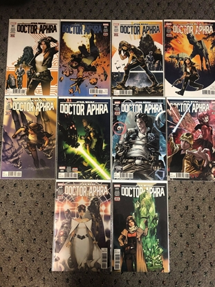 Picture of DOCTOR APHRA (2016) #1 2 3 4 5 6 7 8 9 10 / 1ST PRINT SET NM