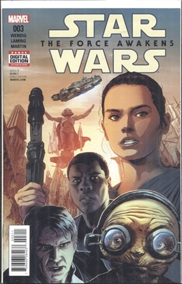 Picture of STAR WARS FORCE AWAKENS ADAPTATION #3 (OF 5)