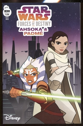 Picture of STAR WARS ADV FORCES OF DESTINY AHSOKA & PADME COVER A
