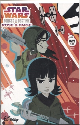 Picture of STAR WARS ADV FORCES OF DESTINY ROSE & PAIGE COVER A