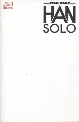 Picture of HAN SOLO #1 BLANK VARIANT
