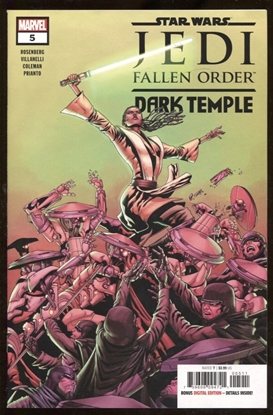 Picture of STAR WARS JEDI FALLEN ORDER DARK TEMPLE #5 (OF 5)