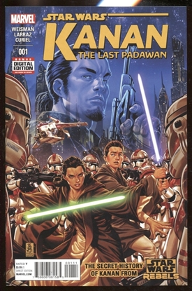 Picture of KANAN LAST PADAWAN #1 9.4 NM