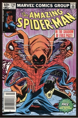 Picture of AMAZING SPIDER-MAN #238 / 8.5 VF+ / 1ST APP OF HOBGOBLIN NEWSSTAND