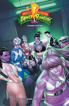 Picture of MIGHTY MORPHIN POWER RANGERS TP VOL 14