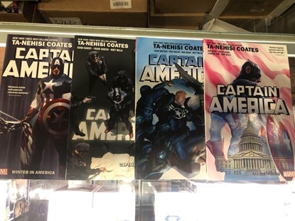 Picture of CAPTAIN AMERICA (2018) BY TA-NEHISI COATES VOL 1 2 3 4 TP SET / REPS #1-25