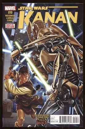 Picture of STAR WARS KANAN #10 / 1ST APP FENN RAU / 9.2 NM-