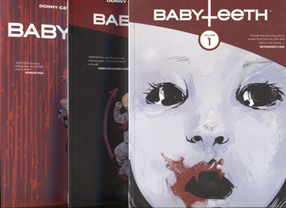 Picture of BABYTEETH TP VOLUME 1 2 3 SET / REPS #1-15 DONNY CATES AFTERSHOCK