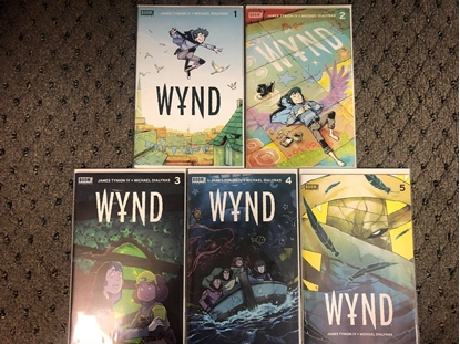 Picture of WYND #1 2 3 4 5 / 1ST PRINT SET / JAMES TYNION IV / BOOM! NM