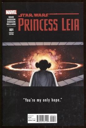 Picture of PRINCESS LEIA #1 (OF 5) TEASER VAR