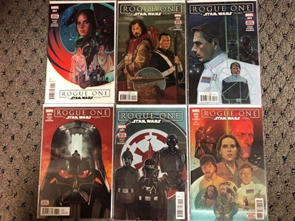 Picture of STAR WARS ROGUE ONE ADAPTATION #1 2 3 4 5 6 / 1ST PRINT SET NM
