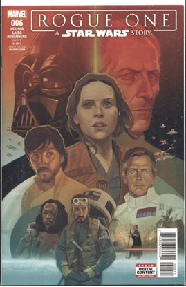 Picture of STAR WARS ROGUE ONE ADAPTATION #6 (OF 6)