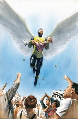 Picture of MARVELS ANNOTATED #2 (OF 4) ALEX ROSS VIRGIN VARIANT