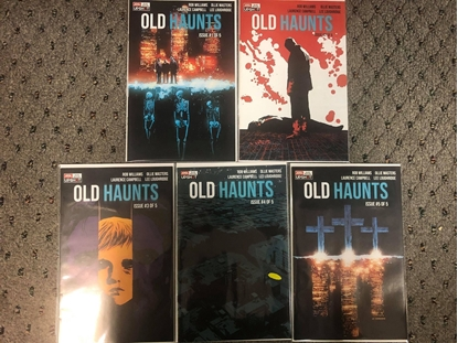 Picture of OLD HAUNTS (2020) #1 2 3 4 5 / 1ST PRINT SET / UPSHOT-AWA NM