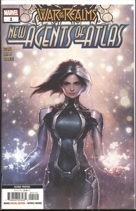 Picture of WAR OF REALMS NEW AGENTS OF ATLAS #1 (OF 4) 2ND PRINT VARIANT