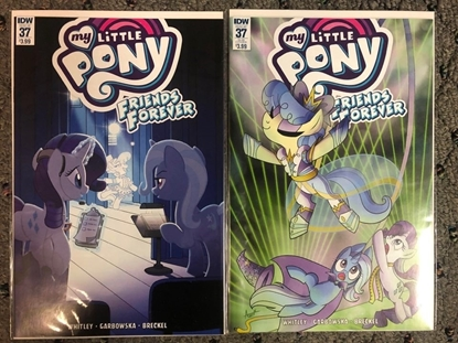 Picture of MY LITTLE PONY FRIENDS FOREVER #37 / COVER A + SUB COVER SET IDW NM
