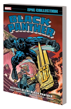 Picture of BLACK PANTHER EPIC COLL TP REVENGE OF BLACK PANTHER NEW PTG