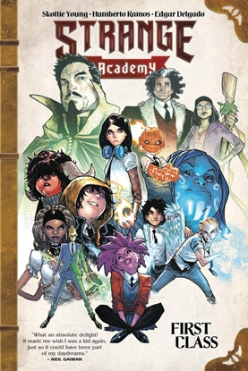 Picture of STRANGE ACADEMY GN TP FIRST CLASS