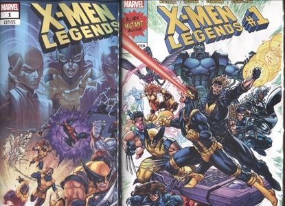 Picture of X-MEN LEGENDS (2021) #1 / 1ST PRINT & COELLO VARIANT COVER SET NM