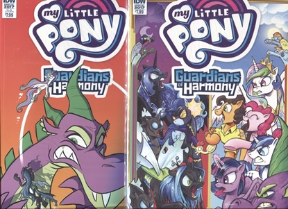 Picture of MY LITTLE PONY ANNUAL 2017 / GUARDIANS OF HARMONY COVER A & SUB COVER NM