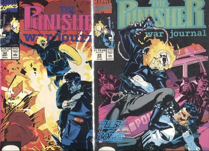Picture of PUNISHER WAR JOURNAL #29-30 / 2-PART GHOST RIDER STORY