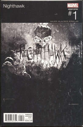 Picture of NIGHTHAWK #1 HIP HOP VARIANT BY SIENKIEWICZ
