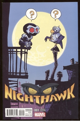 Picture of NIGHTHAWK #1 SKOTTIE YOUNG VARIANT COVER