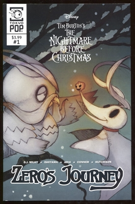 Picture of NIGHTMARE BEFORE CHRISTMAS ZEROS JOURNEY #1 COVER A