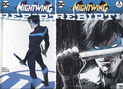 Picture of NIGHTWING (2016) #1 ONE-SHOT / COVER A & B VARIANT SET NM REBIRTH