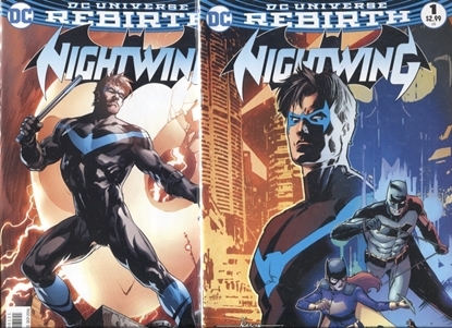 Picture of NIGHTWING (2016) #1 / 1ST PRINT COVER A & B VARIANT SET NM REBIRTH
