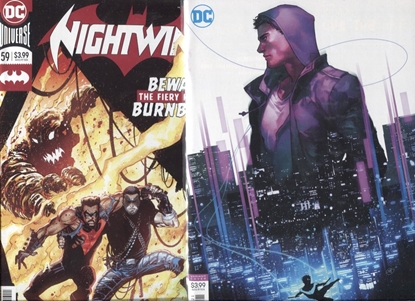 Picture of NIGHTWING REBIRTH #59 / COVER A + B VARIANT SET NM