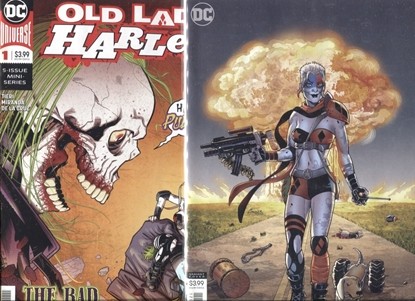 Picture of OLD LADY HARLEY #1 / COVER A 1ST PRINT + COVER B VARIANT / NM SET