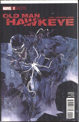 Picture of OLD MAN HAWKEYE #2 (OF 12) 3RD PRINT CHECCHETTO VARIANT COVER