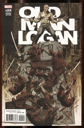 Picture of OLD MAN LOGAN #24 PANOSIAN VARIANT COVER